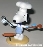 Chef Snoopy with kitchen utensils spring figurine