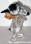 Flying Ace Glass Figurine