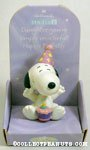 Snoopy with cake 'Daughter' Figurine