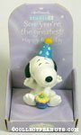 Snoopy with cake 'Son' Figurine