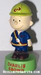 Charlie Brown in Uniform Figurine