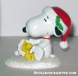 'Happy Holidays Snoopy & Woodstock' Figurine