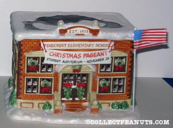 'Pinecrest Elementary School Figurine