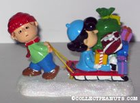 'Lucy gets a ride' Figurine