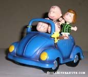 Linus, Pigpen, Charlie Brown, Peppermint Patty and Woodstock