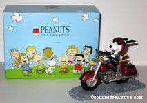 Snoopy on Motorcycle
