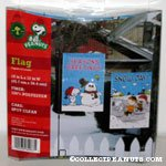 Snoopy, Charlie Brown and Linus Winter Mini Flag Set