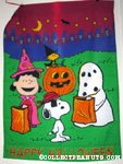 Peanuts Gang in costume Halloween Flag