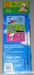 Snoopy & Woodstock 'Live, Laugh, Love' Mini Flag