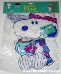 Snoopy 'Winter Warmth' Mini Flag