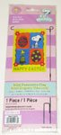 Snoopy & Woodstock with eggs 'Happy Easter' Mini Flag