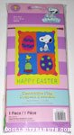 Snoopy & Woodstock with eggs 'Happy Easter' Flag