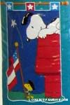 Peanuts & Snoopy Patriotic Flags