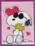 Peanuts & Snoopy Valentine's Day Flags