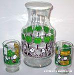 Peanuts & Snoopy Juice Glasses & Pitchers