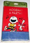 Peanuts & Snoopy Invitations