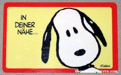 Peanuts & Snoopy Wallet Cards