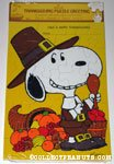 Peanuts & Snoopy Thanksgiving Cards