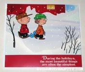 Charlie Brown & Linus Christmas Card