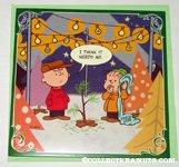 Charlie Brown & Linus Tree Lot Christmas Card