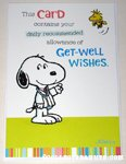 Peanuts & Snoopy Get Well Cards