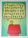 Woodstock Speech Bubble Greeting Card
