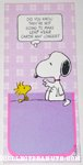 Snoopy & Woodstock Leap Year Greeting Card