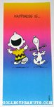 Charlie Brown & Snoopy dancing Greeting Card