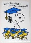 Peanuts & Snoopy Graduation Cards