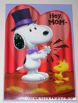 Snoopy & Woodstock clapping 'Mom' Greeting Card
