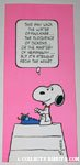 Snoopy authors Greeting Card