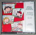 Charlie Brown, Lucy, Sally and Linus Christmas Cards