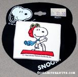 Flying Ace waving from Doghouse Barrette