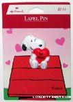 Hallmark Peanuts & Snoopy Pins
