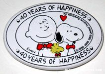 40 Years of Happiness Barrette