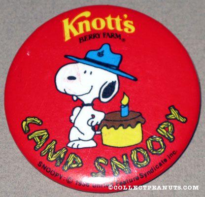 knotts berry farm snoopy. Knott#39;s Berry Farm Button