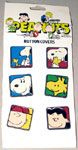 Peanuts Gang button covers