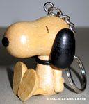 Peanuts & Snoopy Wood Keychains