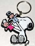 Peanuts & Snoopy Flat Figural - Rubber Keychains