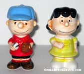 Charlie Brown & Lucy Salt & Pepper Shaker Set