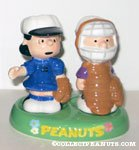Lucy & Schroeder Baseball Salt and Pepper Shakers