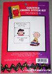 Lucy & Charlie Brown Cross-stitch Kit