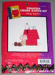Snoopy on Doghouse Cross-stitch Kit