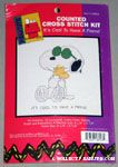 Joe Cool Hugging Woodstock Cross-stitch Kit