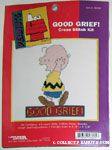 Charlie Brown Cross-stitch Kit