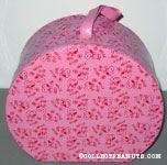 Belle Pink Hat Box
