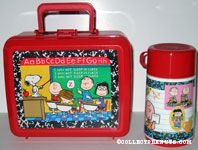 Peanuts Gang in Classroom Lunch Box