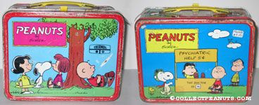 Peanuts Gang under Tree Lunch Box