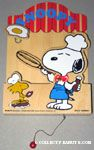 Chef Snoopy & Woodstock cooking Letter Box