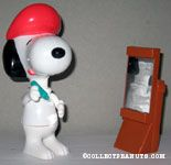 Snoopy Artist with Easel